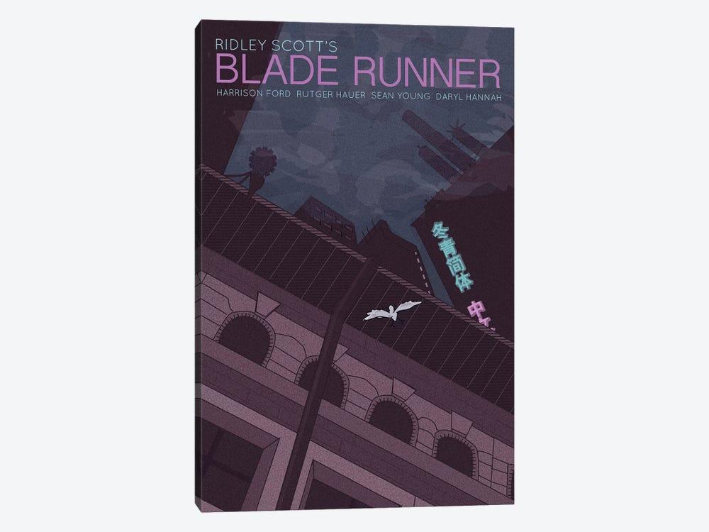 Blade Runner by Claudia Varosio 1-piece Canvas Art Print