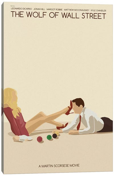 Wolf Of Wall Street Canvas Art Print