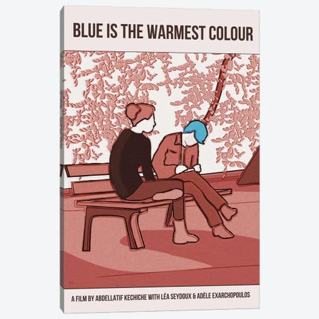Blue Is The Warmest Colour Canvas Print #VSI13} by Claudia Varosio Canvas Art
