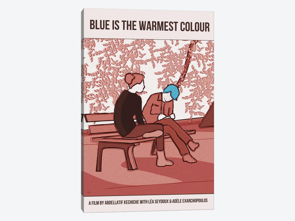Blue Is The Warmest Colour by Claudia Varosio 1-piece Canvas Print