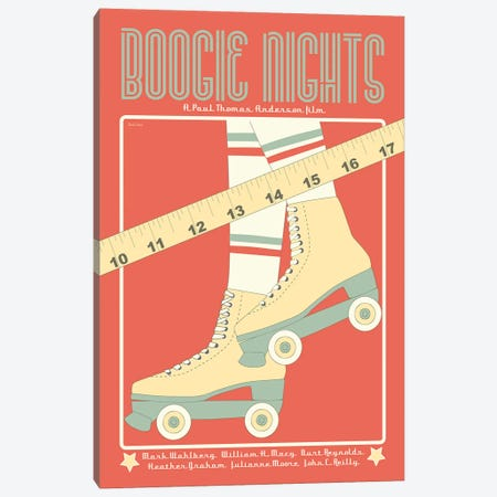Boogie Nights Canvas Print #VSI14} by Claudia Varosio Canvas Print