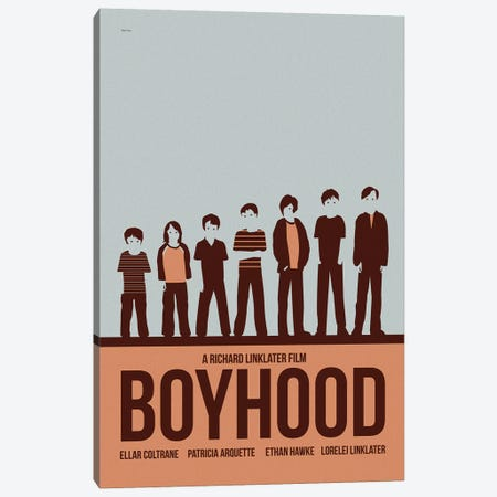 Boyhood Canvas Print #VSI15} by Claudia Varosio Canvas Art Print