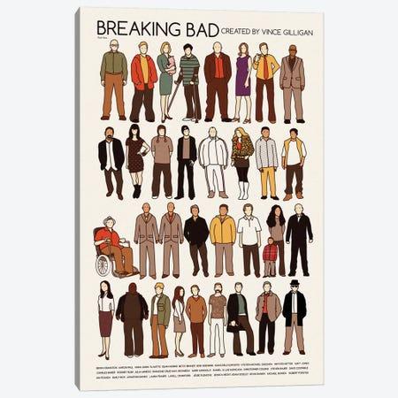 Breaking Bad Canvas Print #VSI18} by Claudia Varosio Canvas Art