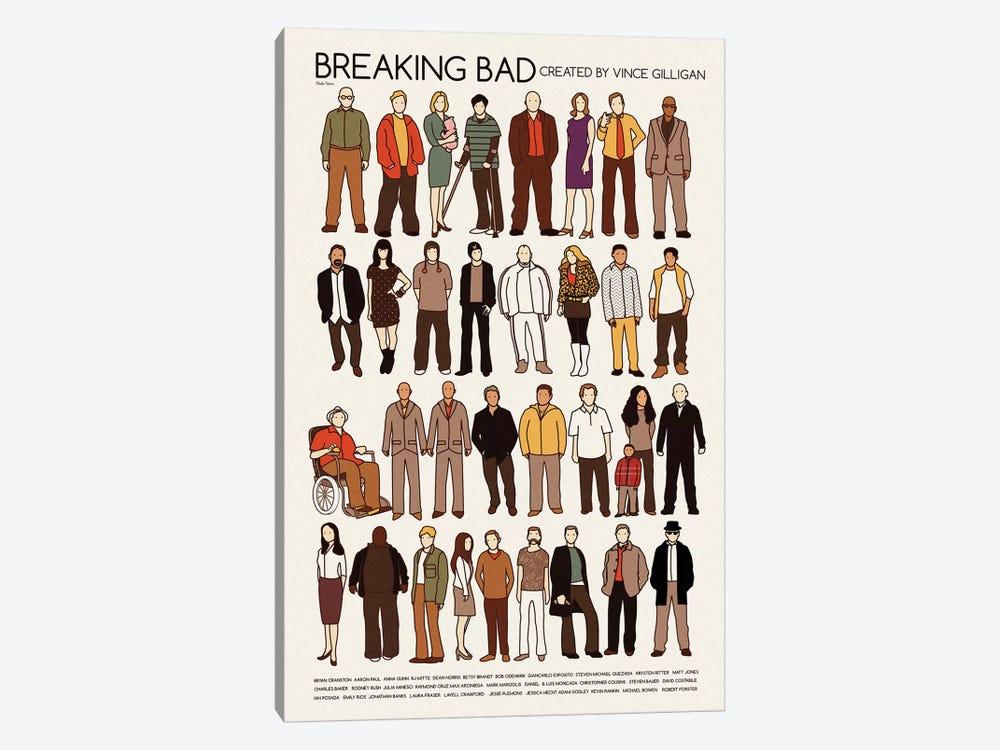 Breaking Bad by Claudia Varosio 1-piece Canvas Artwork