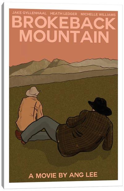 Brokeback Mountain Canvas Art Print