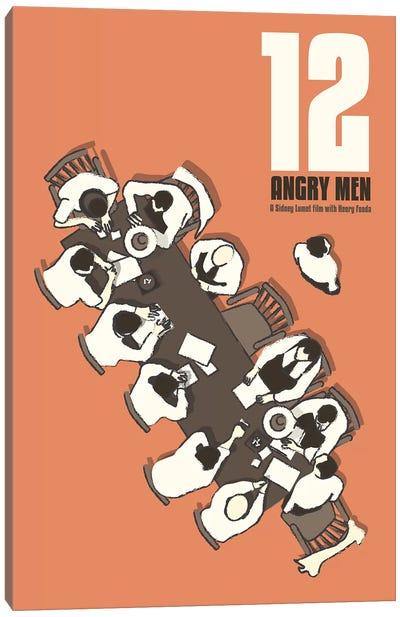 12 Angry Men Canvas Art Print