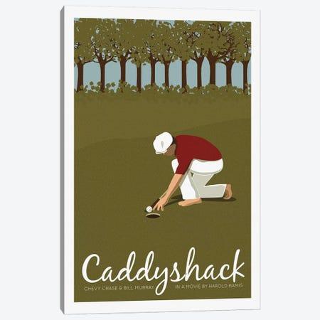 Caddyshack Canvas Print #VSI21} by Claudia Varosio Canvas Art Print