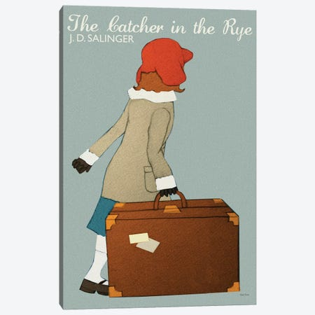 Catcher In The Rye Canvas Print #VSI24} by Claudia Varosio Canvas Artwork