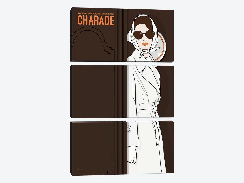 Charade by Claudia Varosio 3-piece Canvas Art