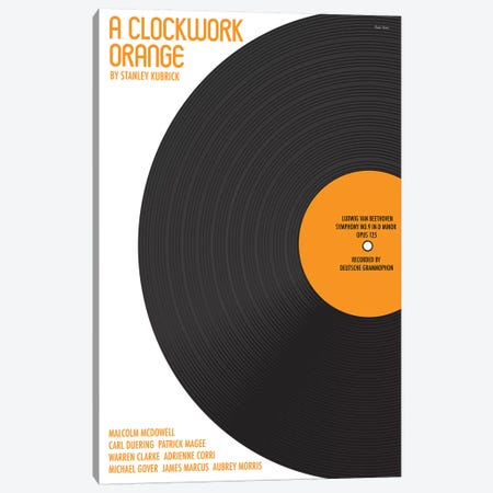 Clockwork Orange Canvas Print #VSI27} by Claudia Varosio Canvas Artwork
