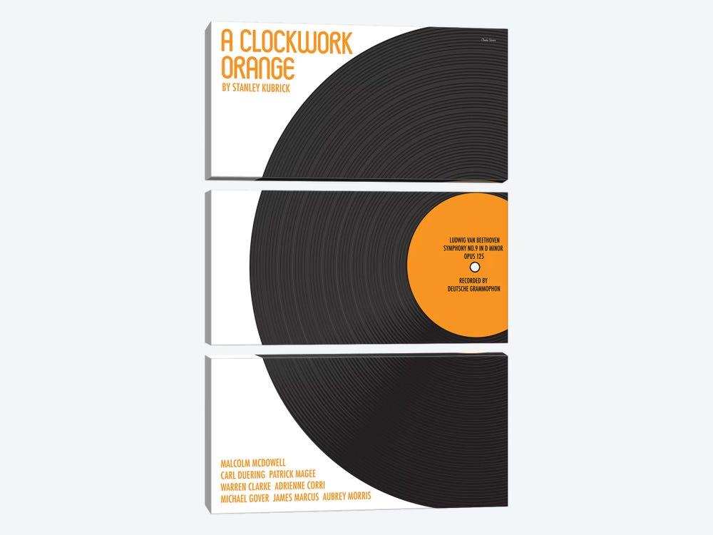 Clockwork Orange by Claudia Varosio 3-piece Canvas Art