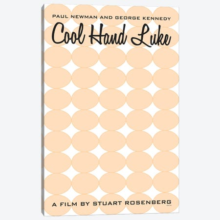 Cool Hand Luke Canvas Print #VSI28} by Claudia Varosio Canvas Art Print
