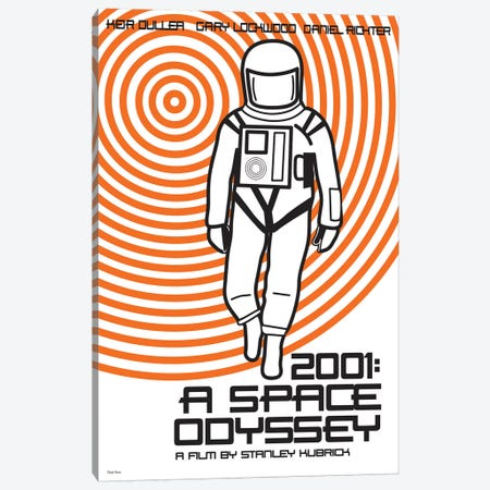 2001 A Space Odyssey Canvas Print #VSI2} by Claudia Varosio Canvas Art
