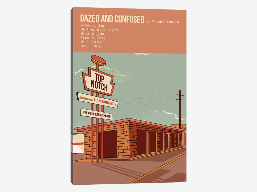 Dazed And Confused by Claudia Varosio 1-piece Canvas Art Print