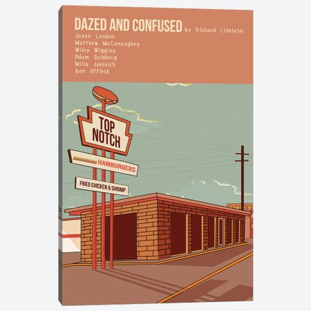 Dazed And Confused Canvas Print #VSI31} by Claudia Varosio Canvas Wall Art