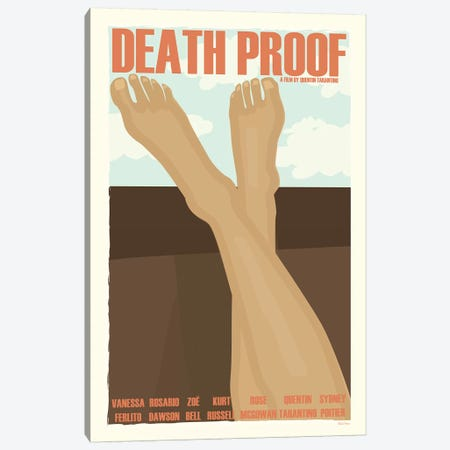 Death Proof Canvas Print #VSI32} by Claudia Varosio Canvas Artwork