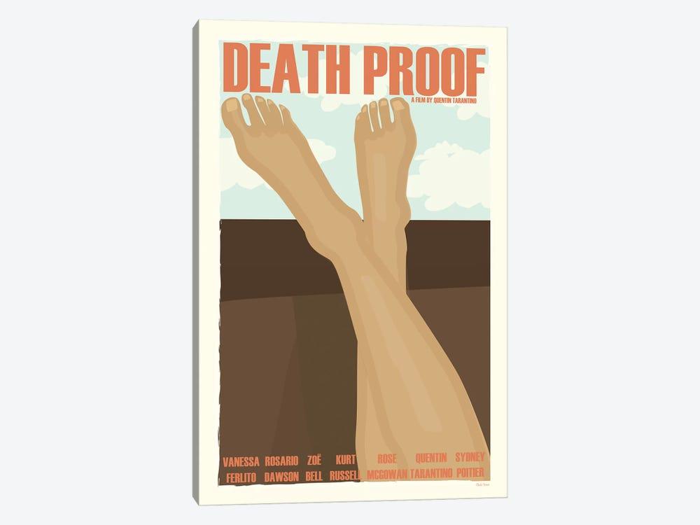 Death Proof by Claudia Varosio 1-piece Canvas Wall Art
