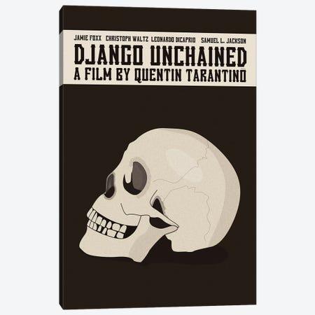 Django Unchained Canvas Print #VSI33} by Claudia Varosio Canvas Wall Art