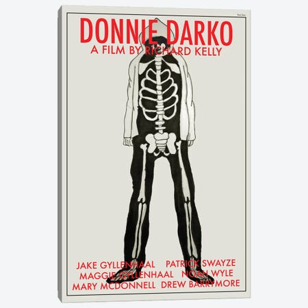 Donnie Darko Canvas Print #VSI34} by Claudia Varosio Art Print