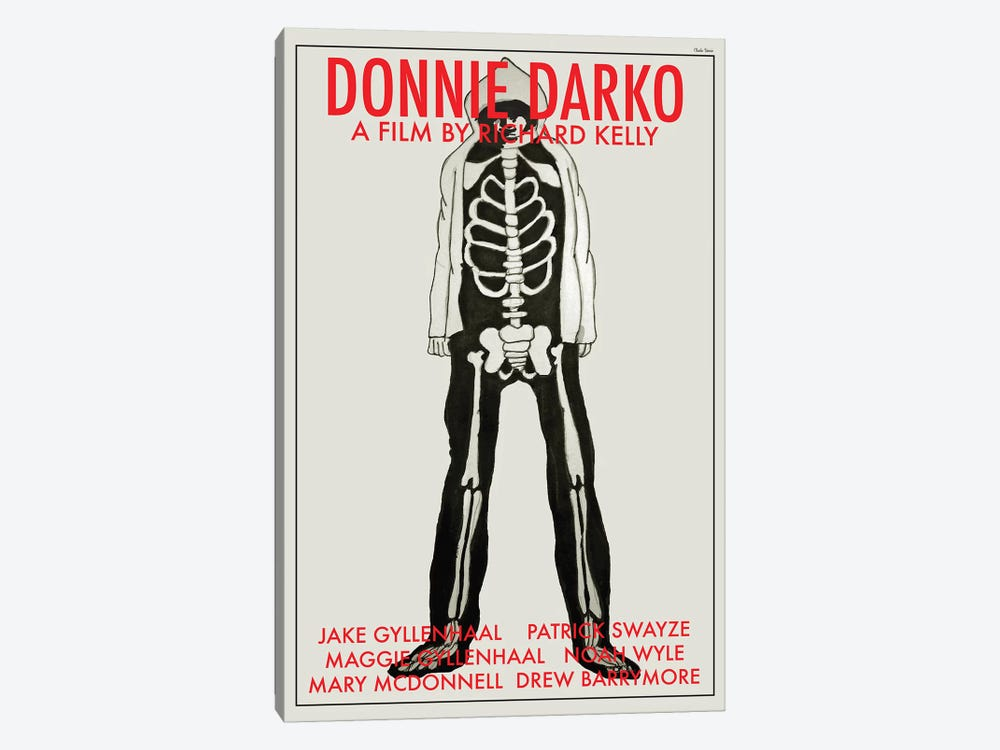 Donnie Darko by Claudia Varosio 1-piece Canvas Wall Art