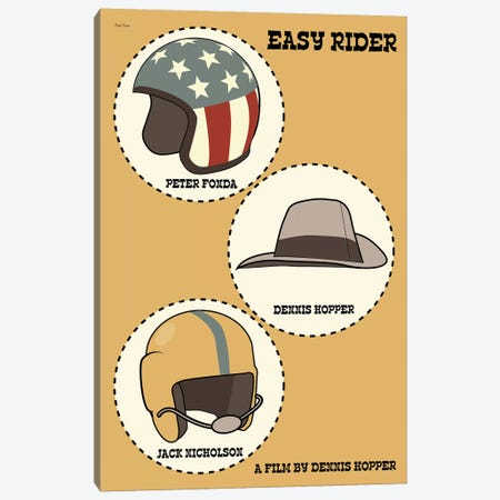 Easy Rider Canvas Print #VSI35} by Claudia Varosio Canvas Art Print