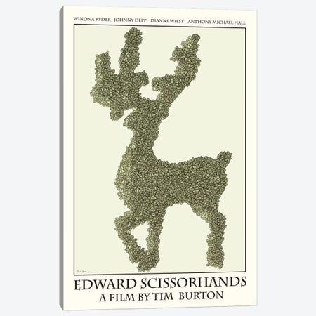 Edward Scissorhands Canvas Print #VSI36} by Claudia Varosio Canvas Print