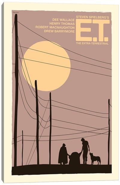 E.T. Canvas Art Print