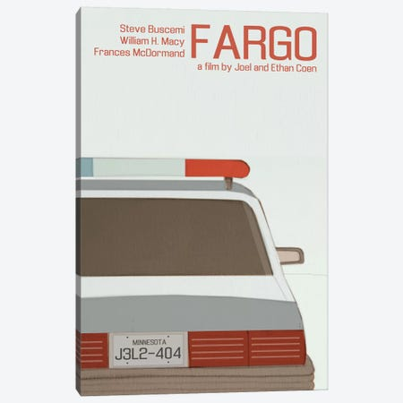 Fargo Canvas Print #VSI39} by Claudia Varosio Canvas Art