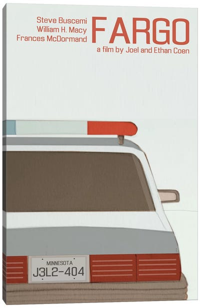 Fargo Canvas Art Print