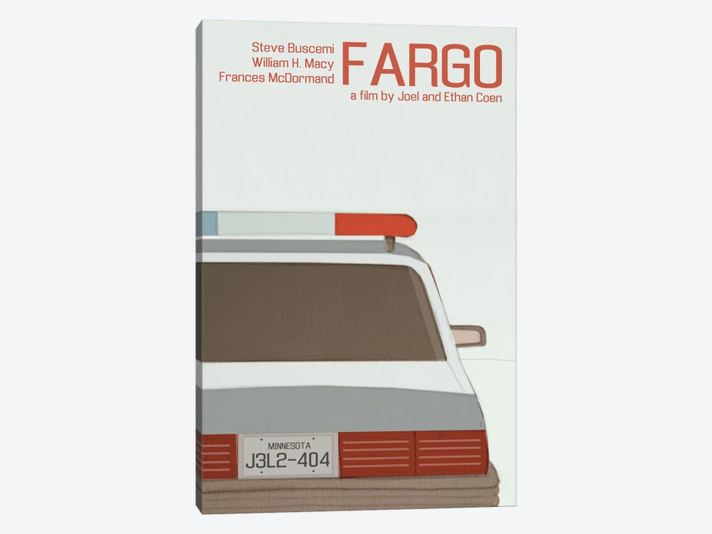 Fargo by Claudia Varosio 1-piece Canvas Art Print