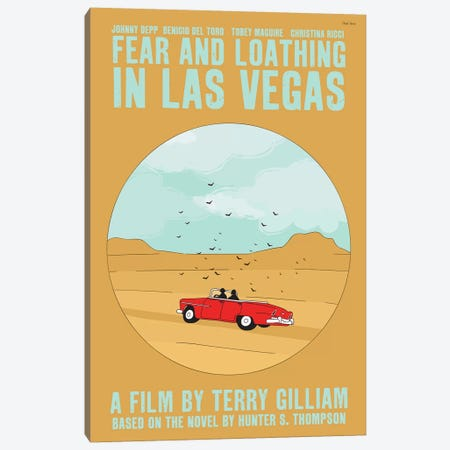 Fear And Loathing In Las Vegas Canvas Print #VSI40} by Claudia Varosio Canvas Art Print