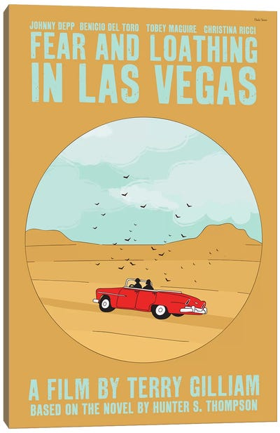 Fear And Loathing In Las Vegas Canvas Art Print