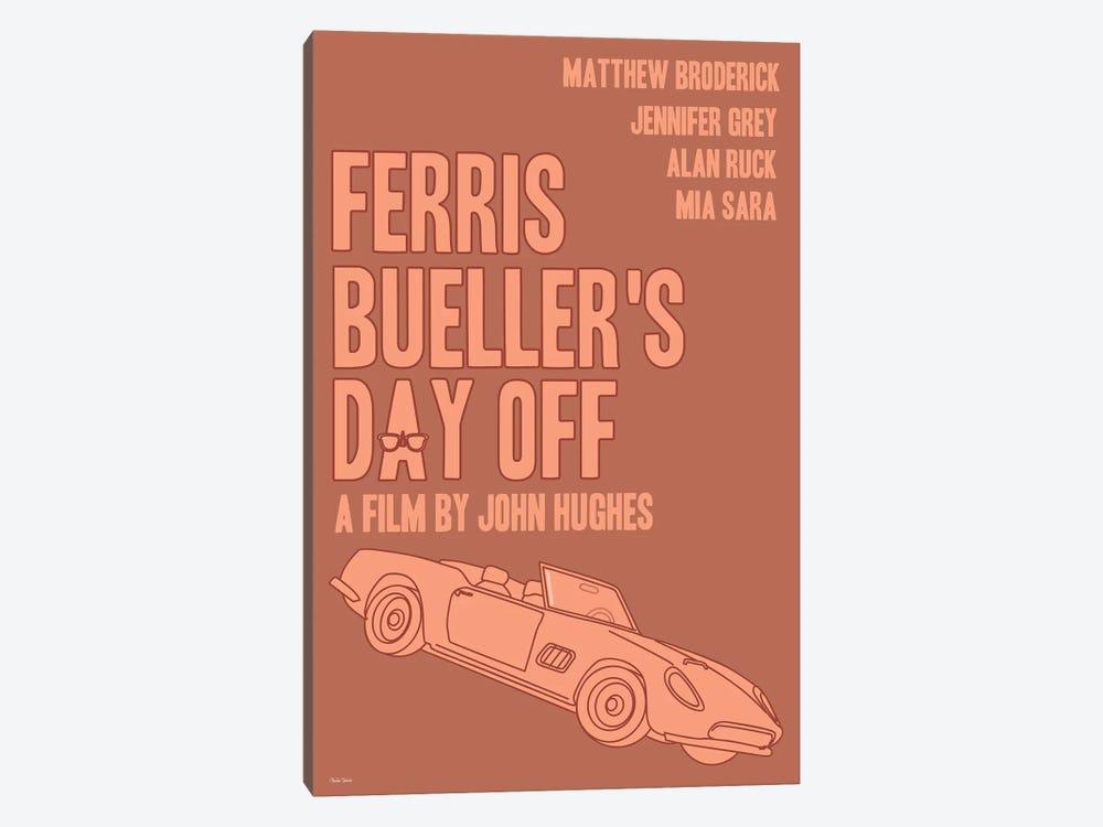 Ferris Bueller's Day Off by Claudia Varosio 1-piece Canvas Art