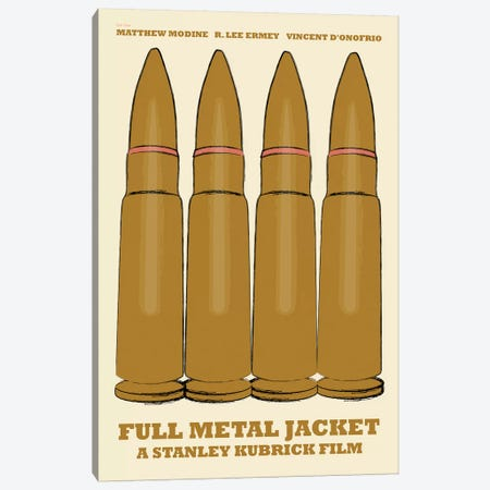 Full Metal Jacket Canvas Print #VSI43} by Claudia Varosio Canvas Print
