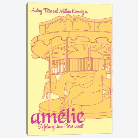 Amelie Canvas Print #VSI4} by Claudia Varosio Canvas Art Print