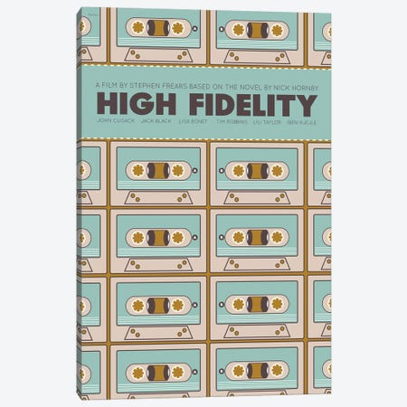 High Fidelity Canvas Print #VSI51} by Claudia Varosio Canvas Art