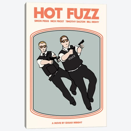 Hot Fuzz Canvas Print #VSI52} by Claudia Varosio Canvas Art