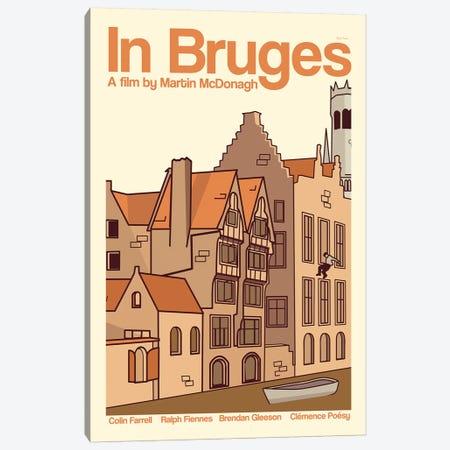 In Bruges Canvas Print #VSI53} by Claudia Varosio Canvas Artwork
