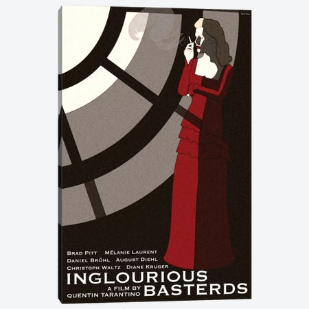 Inglorious Basterds Canvas Print #VSI55} by Claudia Varosio Canvas Print