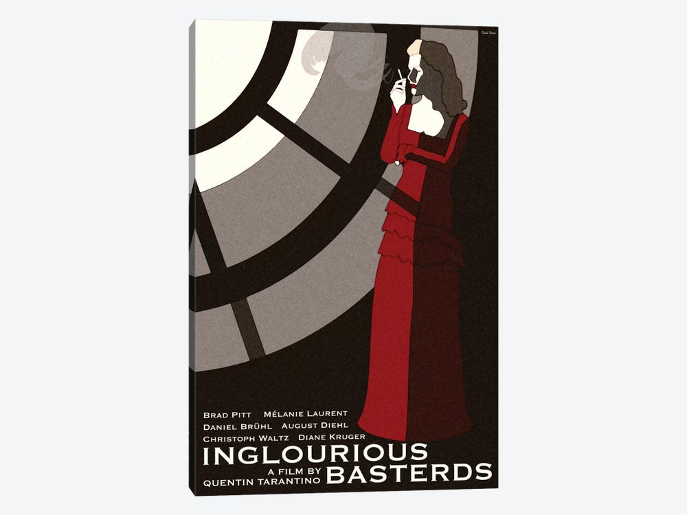 Inglorious Basterds by Claudia Varosio 1-piece Canvas Art Print