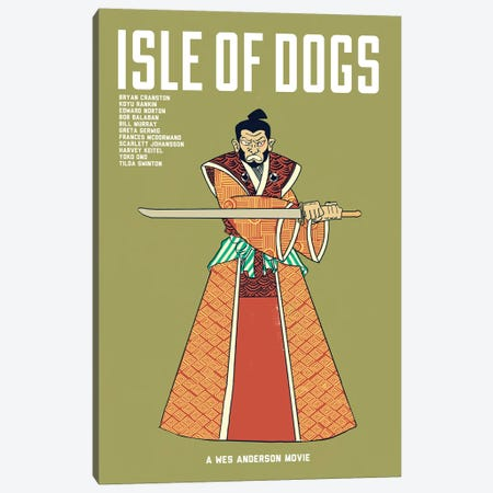 Isle Of Dogs Canvas Print #VSI57} by Claudia Varosio Canvas Art Print