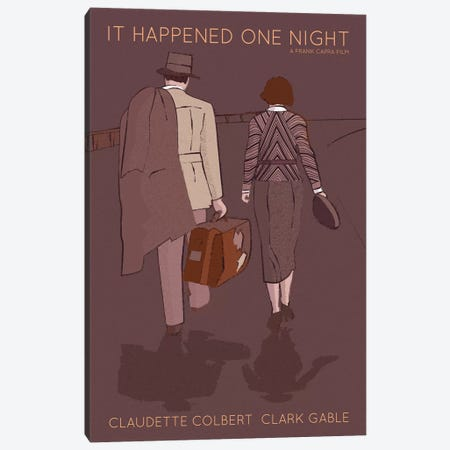 It Happed One Night Canvas Print #VSI58} by Claudia Varosio Canvas Art