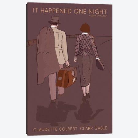 It Happed One Night Canvas Print #VSI58} by Claudia Varosio Canvas Art