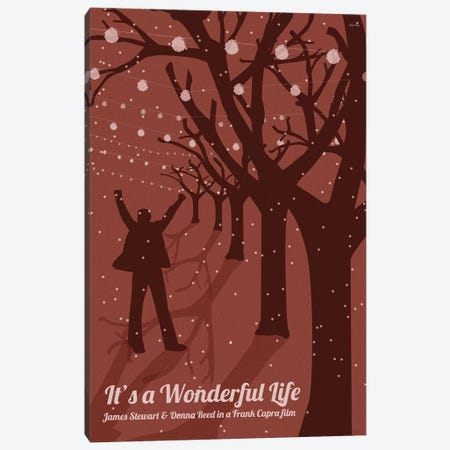 It's A Wondeful Life Canvas Print #VSI59} by Claudia Varosio Canvas Art