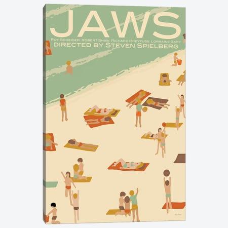 Jaws Canvas Print #VSI60} by Claudia Varosio Canvas Art Print