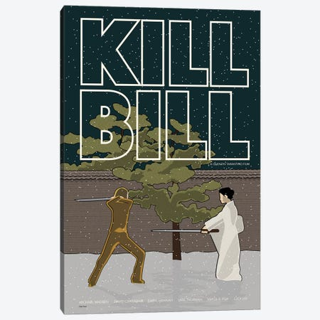 Kill Bill Canvas Print #VSI62} by Claudia Varosio Canvas Print