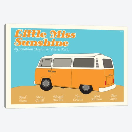 Little Miss Sunshine Canvas Print #VSI65} by Claudia Varosio Canvas Art