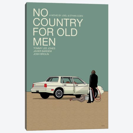 No Country For Old Men Canvas Print #VSI73} by Claudia Varosio Canvas Art