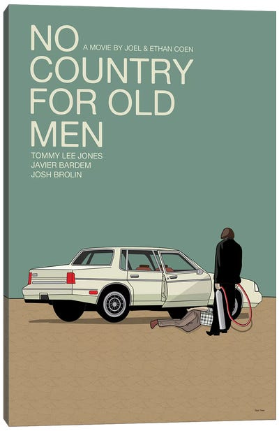 No Country For Old Men Canvas Art Print