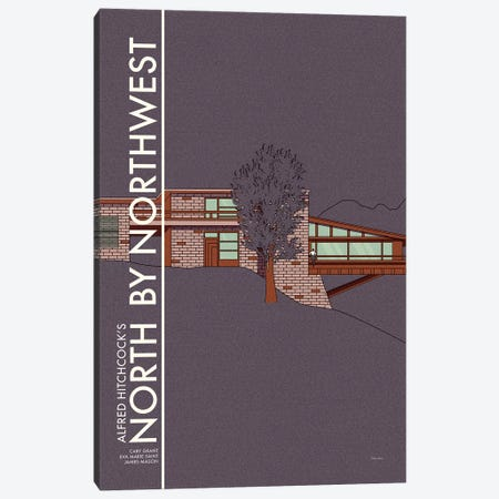 North By Northwest Canvas Print #VSI74} by Claudia Varosio Art Print